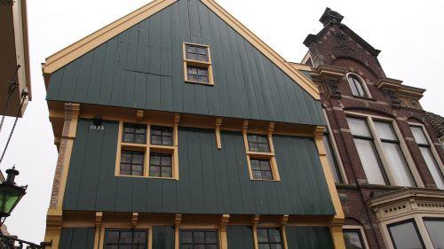 namas, rutulys, paminklas, istorinis pastatas, architektūra, miestas, istorinis, Nyderlandai, alkmaar, senas, senovės laikai, mediena, istorinis centras, Miestas