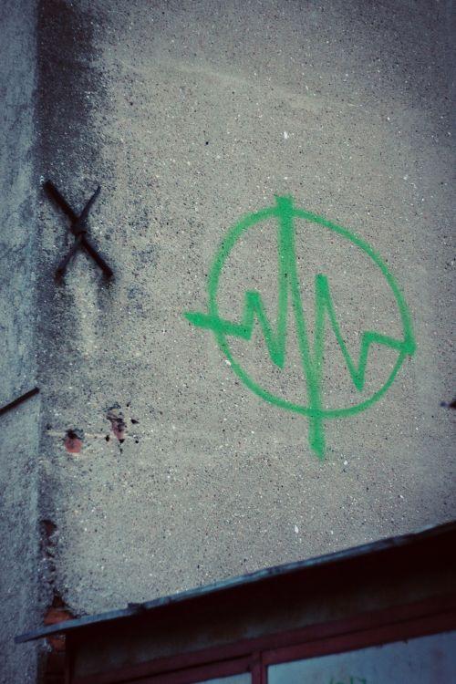 namas,grafiti,vintage,ženklas,siena,lodz,Lenkija,Lenkija