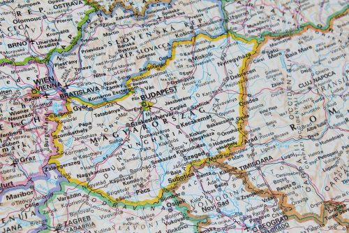 vengrija,budapest,žemėlapis,geografija
