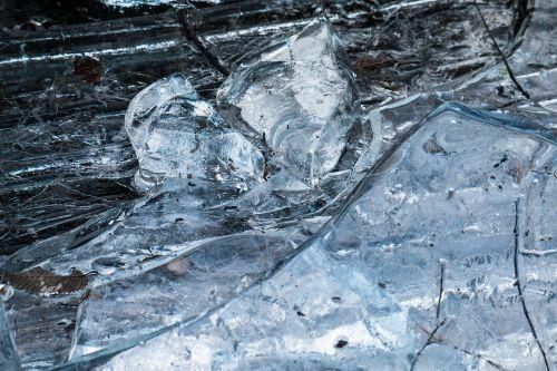 Ledas, Ledas, Ledo Kupė, Ledo Gabaliukai, Sušaldyta, Ledas, Šaltas, Žiema