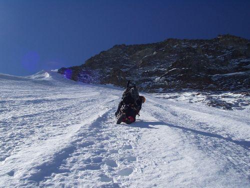 ledo laipiojimas,šiaurinė siena,didelis ragas,Šveicarija,ledo siena,lipti,Alpių,alpinizmas,bergsport,kalnai