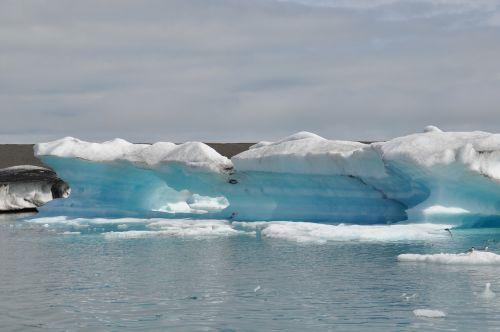 Ledas, Ledas, Amžinas Ledas, Iceland, Ledynas, Jökulsárlón