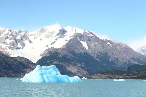Ledkalnis, Argentina, Patagonia, Gamta