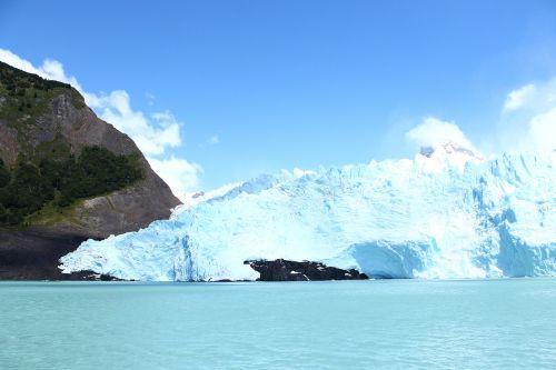Ledkalnis, Gamta, Argentina, Ledas