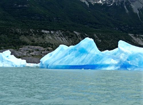 Ledkalnis, Argentine, Patagonia, Ledynas