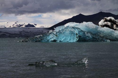 ledkalnis,iceland,ledynas,jökulsárlón,ledynas,mėlynas,ledas,tirpimas,ledynų recesija,atsitraukiantis ledynas
