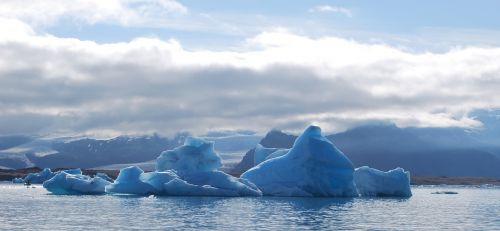 Ledkalnis,  Ledas,  Jökullsarlon,  Iceland,  Floe