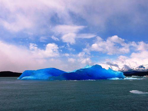 Ledkalnis, Ledas, Mėlynas