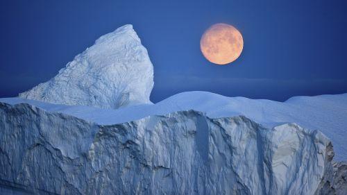 Ledkalnis, Mėnulis, Arktinė, Antarktas