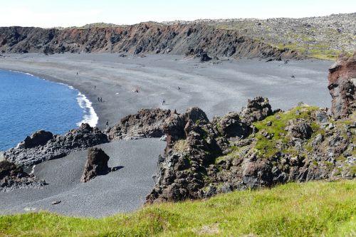 iceland,kranto,атлантический,jūra,uolos,vandenynas,gamta,Rokas,uolos pakrantė,vulkaninis uolas,vulkaninis,snaefellness,snæfellsnes pusiasalis,lava