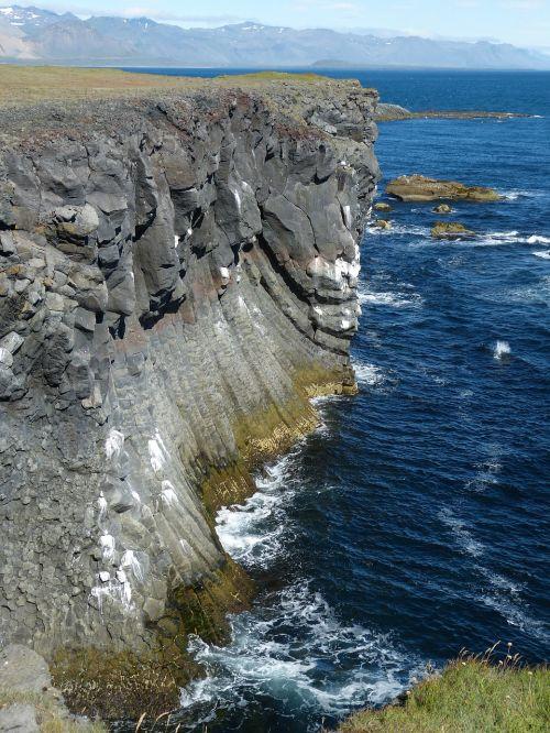 iceland,snaefellness,snæfellsnes pusiasalis,gamta,vulkaninis,kraštovaizdis,Rokas,атлантический,vulkaninis uolas,lava,kranto,uolos