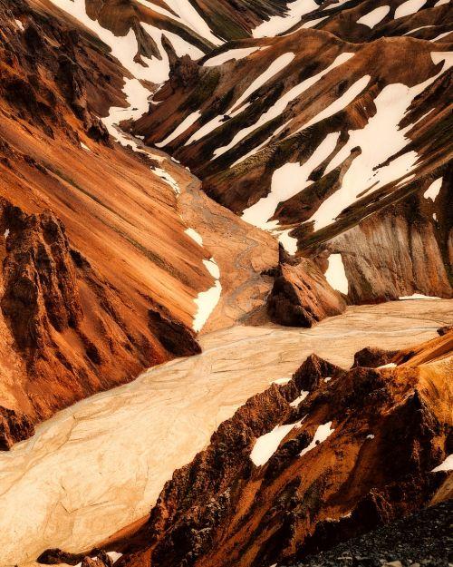 iceland,kalnai,sniegas,uraganas,Gorge,kraštovaizdis,kaimas,turizmas,ledynas