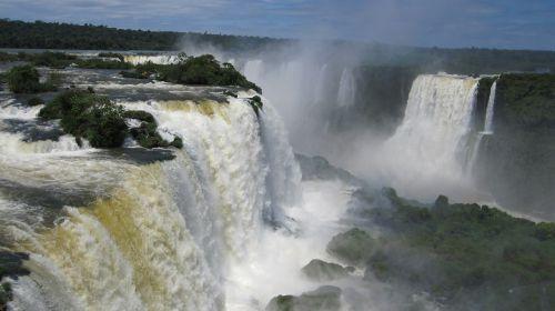 iguazú kriokliai,krioklys,vandens siena,iguazu,vanduo,upė,rėkti,purkšti,įvedimas,įspūdingas,Brazilija,argentina,Nacionalinis parkas,nacionalinis parkas iguazú,iguazu nacionalinis parkas,pasaulio paveldo sąrašas,Unesco,pasaulio paveldo vieta,pasaulio gamtos paveldas