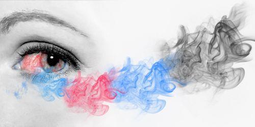 œil,rūkyta,vaizduotė,spalvos