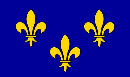 ile de france,vėliava,france,regionas,ile-de-france,Prancūzų kalba,nemokama vektorinė grafika
