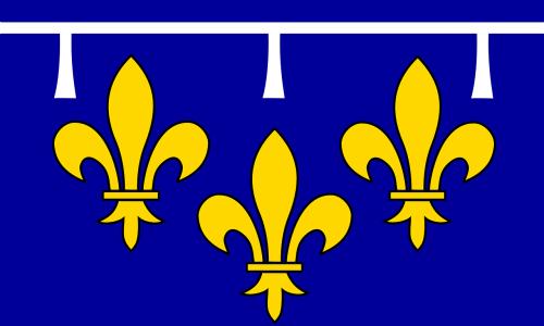 ile-de-france,vėliava,Parišo regionas,provincija,france,nemokama vektorinė grafika