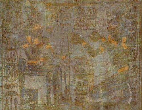 fonas, apdaila, ornamentu, spalva, kūrybingas, modelis, tapetai, iliustracija, Egiptas, auksas, žalias, iliustracija egiptas aukso žalia