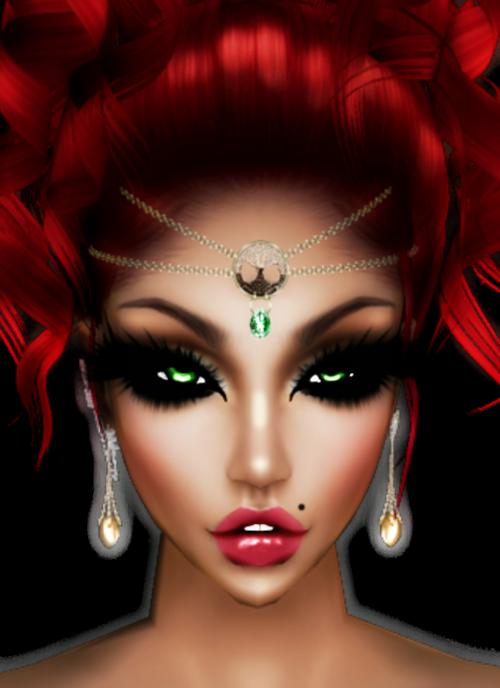 imvu,avatar,raudona,žalias akimis,moteris,plaukai,veidas,Moteris,butas,userpic,glamoras,akis,šiuolaikiška,meno kūriniai