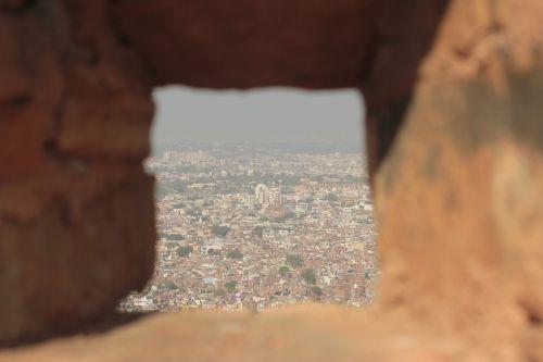 Indija,miestas,jaipur,oro vaizdas,senovės,rajasthan,kelionė