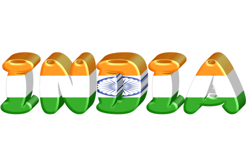 Indija,valstybė,tarptautinis,vėliava,3d