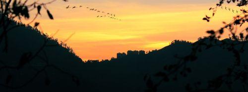 Indija,shimla,jamachal,Pradesh,Šiaurė,kalnas,kraštovaizdis,natūralus,dangus,saulės šviesa,vakaras,spalvingas dangus