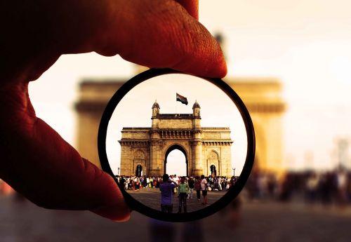 Indija,Mumbajus,b,bombėjaus,miestas,žinomas,turizmas,pritraukimas,vartai į Mumbajus
