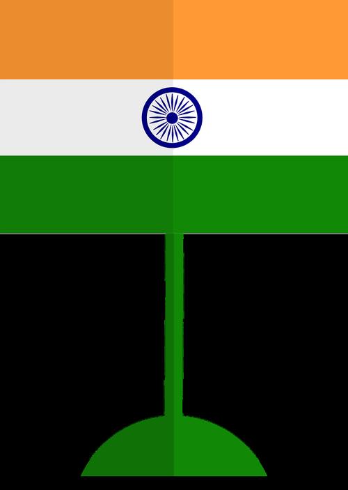 Indija, vėliava, Indian vėliavos, pilietis, simbolis, Indija vėliavos, Šalis, reklama, simbolizmas, šafranas, baltos spalvos, žalias, trispalvė, tri-juosta, 24, stipinai, ratas, karinis jūrų laivynas, Nemokama vektorinė grafika, Nemokama iliustracijos