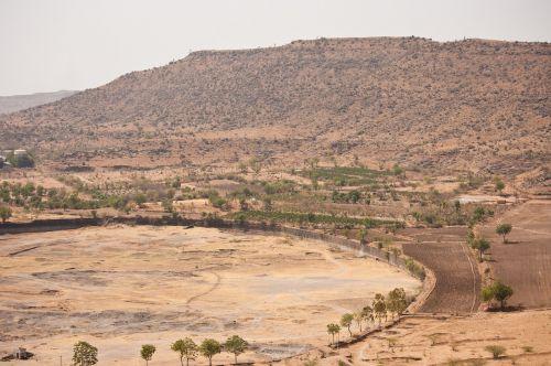Indija,kaimas,sausas,Centrinė Indija,kraštovaizdis,gamta