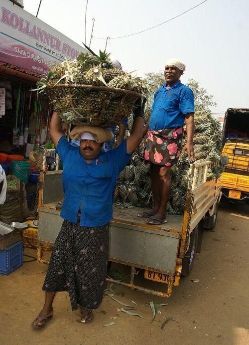 Indija,Mumbajus,vaisiai,turgus