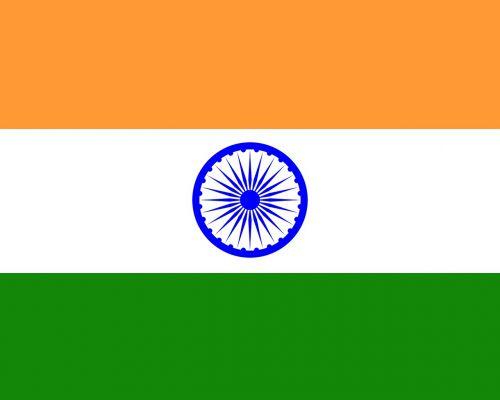 Indijos vėliava,Indijos vėliava,vėliava,trijų spalvų vėliava,čakra,Indija,plokščia vėliava,Šalis