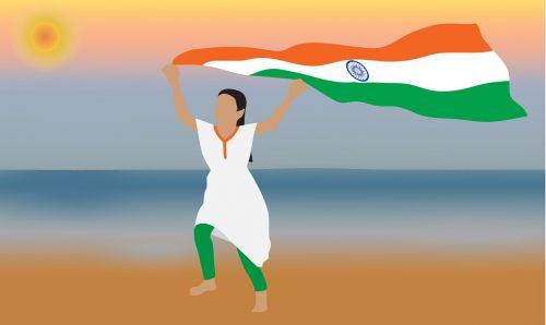 Indijos vėliava,vėliava,Indija,nacionalinis,Šalis,tauta,Indijos vėliava,respublika,nepriklausomumas,reklama,Rugpjūtis,šventė,sausis,trispalvis,laisvė,demokratija,vyriausybė,taika,Tautybė,mergina su vėliava,mergina,važiuojanti su Indijos vėliava