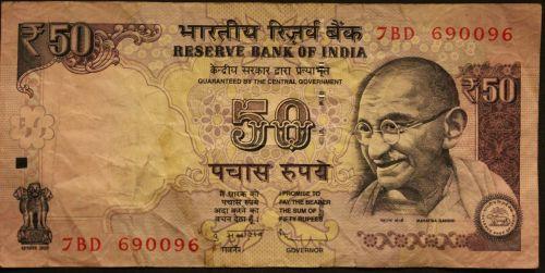 Indijos Rupija, Rupijos, Mahatma Gandhi, Sąskaitos, Dolerio Kupiūra, Sumokėti, Popieriniai Pinigai, Valiuta, Pinigai, Pinigai Indija, Finansai, Indija, Sąskaitą, Ekonomika
