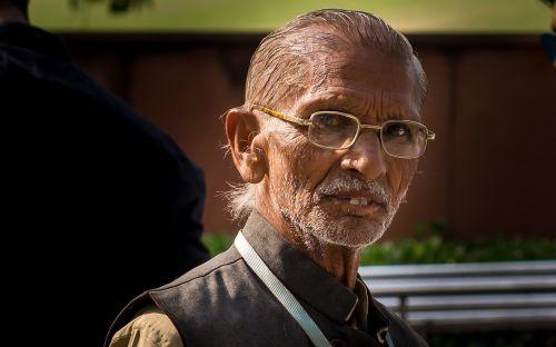 indėnai,gandhi,portretas,akiniai,vyras,žmogus,galva