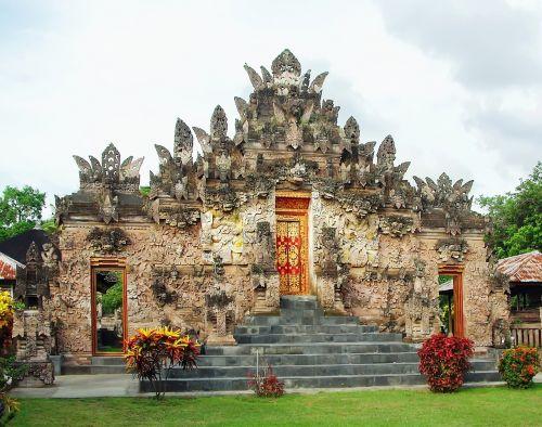 Indonezija,bali,šventykla,skulptūros,statulos,religija,religinis,architektūra,religinis paminklas