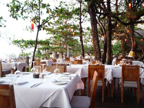 Indonezija,bali,valgyti,atogrąžų valgykla,paplūdimio restoranas,restoranas