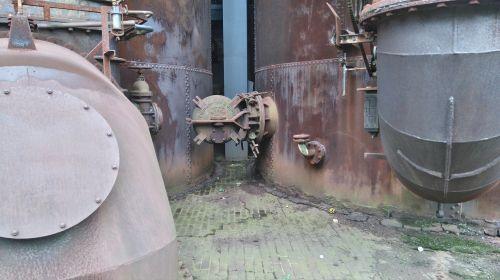 pramoninis paminklas,Duisburgas,metalas,senas,Šiaurės kraštovaizdžio parkas pramoninis paveldas