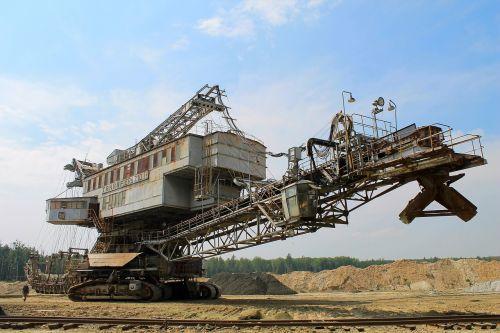 industrija,mašina,ekskavatorius,absetzer,prisikėlimo karjeras,kasybos ekskavatorius,Maskvos sritis