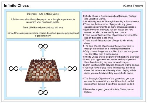 Begalinis,  Begalybė,  Šachmatai,  Žaidimas,  Teorija,  Žaidimas & Nbsp,  Teorija,  Jameschilds2010,  Begalinis Šachmatai (Žaidimų Teorija)
