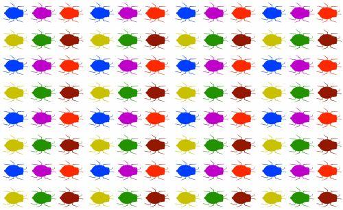 fonas, apdaila, ornamentu, spalva, kūrybingas, modelis, tapetai, iliustracija, vabzdžiai, vabzdžiai