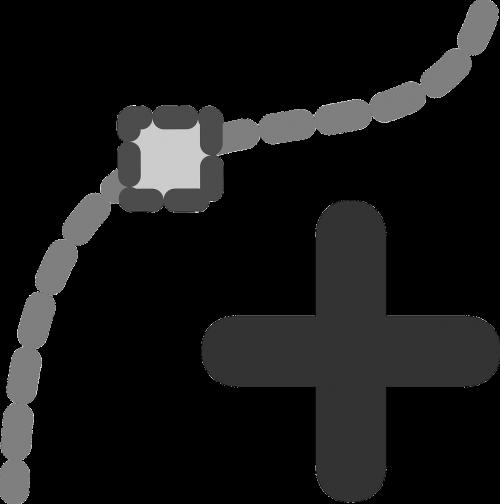 Įdėti,mazgas,papildyti,mazgas,ženklas,simbolis,nemokama vektorinė grafika