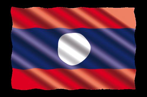 tarptautinis,vėliava,laosas