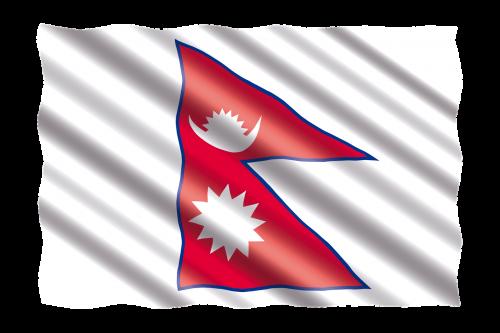 Tarptautinis, Vėliava, Nepalas
