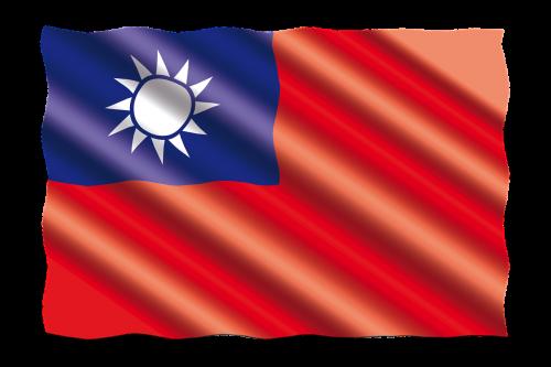 tarptautinis,vėliava,Taivanas