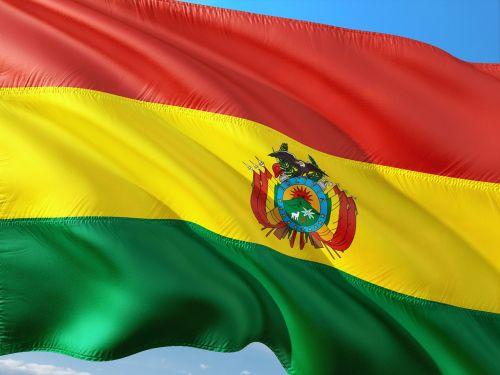 tarptautinis,vėliava,Bolivija
