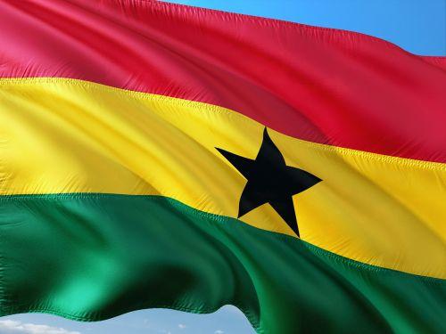 tarptautinis,vėliava,Gana,Vakarų Afrika