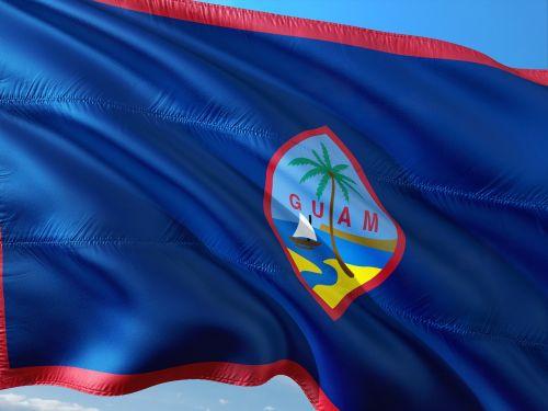 tarptautinis,vėliava,Guamas,Marianos archipelagas,Vakarų Ramiojo vandenyno dalis