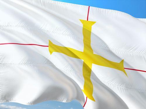 tarptautinis,vėliava,Guernsey,saint-peter-uostas,uk kanalo sala