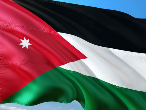 Tarptautinis, Vėliava, Jordan
