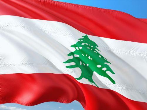Tarptautinis, Vėliava, Libanas, Artimieji Rytai, Viduržemio Jūros