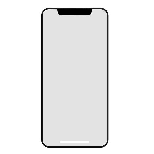 iPhone x, iPhone x maketą, iPhone, Apple iPhone, prietaisas menas, Nemokama iliustracijos